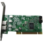 IEEE 1394a FireWire Controller Card - FireWire adapter - PCI - FireWire x 2 - for Precision T3400, T7400; Precision Fixed Workstation 380, 390, 490, 690; Vostro 200, 400
