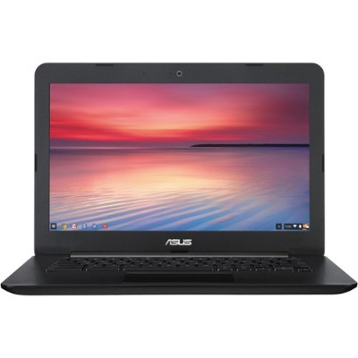 ASUS C300 Intel Celeron N2830 2.16GHz Chromebook Computer - 2GB RAM, 16GB Flash Storage, 13.3