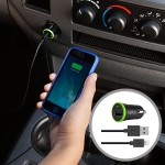 BOOST UP Car Charger with ChargeSync Cable(12 watt/2.4 Amp)