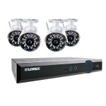 Lorex Technology ECO Black Box 960H 8-Channel Stratus DVR with 4 Wireless Cameras LH03081TC4W