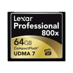 Professional - Flash memory card - 64 GB - 800x - CompactFlash (pack of 2)