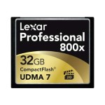 Lexar Media Professional - flash memory card - 32 GB - CompactFlash LCF32GCRBNA8002