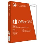 Office 365 Home - Box pack ( 1 year ) - up to 5 PCs and Macs in one household - non-commercial - 32/64-bit, medialess, for American retail only - Win, Mac - English - North America
