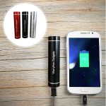 3-Pack 2400mAh Battery Pack for iPhone & Smartphones - Black, Silver & Red - Each will give your phone a full charge