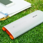Universal Power Bank 12000 MAh High Density Ultra-Compact Portable Rapid Charge External USB Charger - Charges iPhone 8 times & iPad Mini twice - Silver