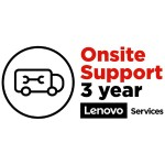 Lenovo System x Servers ServicePac On-Site Repair - Extended service agreement - parts and labor - 3 years - on-site - 24x7 - response time: 4 h - for System x3100 M5 5457 00LV608