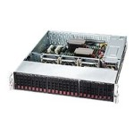 Supermicro SC216 BE2C-R920LPB - Rack-mountable - 2U - extended ATX - SATA/SAS - hot-swap 920 Watt - black