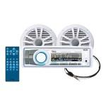 Marine MCK752WB.6 - Marine - CD receiver - in-dash - Full-DIN - 60 Watts x 4