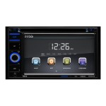 BV 9364B - DVD receiver - display - 6.2 in - touch screen - in-dash unit - Double-DIN - 80 Watts x 4