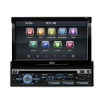 BV 9979B - DVD receiver - display - 7 in - touch screen - in-dash unit - Full-DIN - 85 Watts x 4
