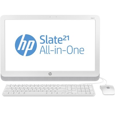 HP Slate 21-k100 NVIDIA Tegra Quad-Core T40S 1.66GHz All-in-One PC - 1GB RAM, 8GB eMMC, 21.5