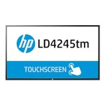 "HP LD4245tm - 42"" Class ( 41.92"" viewable ) LED display - digital signage - with touch-screen - 1080p (FullHD) - black F1M93AA#ABA"