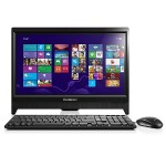 "Lenovo C260 Intel Pentium J2900 Quad-Core 2.41GHz All-in-One Computer - 4GB RAM, 500GB HDD, 19.5"" HD+ LED-Backlit, DVD-Writer, Gigabit Ethernet, IEEE 802.11b/g/n Wireless LAN, 720p Webcam - Black 57327041"