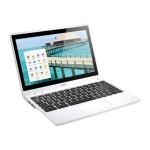 "Chromebook C720P-2457 - Celeron 2955U / 1.4 GHz - Chrome OS - 4 GB RAM - 32 GB SSD - 11.6"" touchscreen 1366 x 768 ( HD ) - HD Graphics - white"
