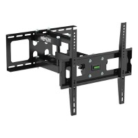 "TrippLite Display TV Wall Monitor Mount Arm Swivel/Tilt 26"" to 55"" TVs / EA / Flat-Screens - Wall mount for LCD / plasma panel - steel - black - screen size: 26""-55"" DWM2655M"