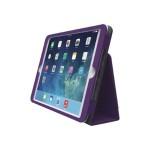 Comercio Plus Soft Folio - Case for tablet - plum - for Apple iPad Air