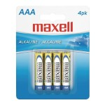 AAA Alkaline Battery 4 Pack