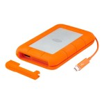 LaCie 1TB Rugged V2 Thunderbolt - USB 3.0 - Professional All-Terrain Storage With Integrated Thunderbolt Cable 9000488