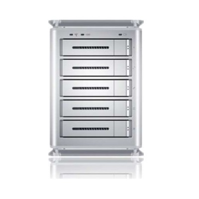 Sans Digital TowerSTOR TS5CT - 5 Bay SATA to USB2.0 / eSATA / Firewire 800 Hardware RAID 5 Enclosure. Bundled with 5pcs. 4TB SATA ...