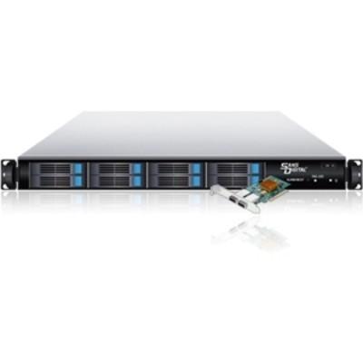 Sans DigitalEliteSTOR ES108X+BP - 1U 8 Bay 2.5 Rackmount 6G SAS / SSD / SATA RAID 5 Storage w/ 6G PCIe 2.0 x8(KT-ES108X+BP)