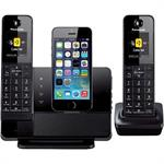 Panasonic Dock Style Telephone with iPhone 5 Integration Capability KX-PRL262B