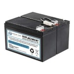 RBC109-SLA109-ER - UPS battery - 1 x lead acid - for P/N: BN1250LCD, BR1200LCDI, BR1500LCDI, BX1300LCD, BX1500LCD
