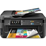 WorkForce WF-7610 - Multifunction printer - color - ink-jet - Super B (13 in x 19 in) (media) - up to 16 ppm (copying) - up to 18 ppm (printing) - 250 sheets - 33.6 Kbps - USB 2.0, LAN, Wi-Fi(n), USB host