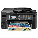 WorkForce WF-3620 - Multifunction printer - color - ink-jet - A4/Legal (media) - up to 17 ppm (copying) - up to 19 ppm (printing) - 250 sheets - 33.6 Kbps - USB 2.0, LAN, Wi-Fi(n), USB host