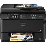 Epson WorkForce Pro WF-4630 - Multifunction printer - color - ink-jet - A4/Legal (media) - up to 19 ppm (copying) - up to 20 ppm (printing) - 330 sheets - 33.6 Kbps - USB 2.0, LAN, Wi-Fi(n), USB host C11CD10201