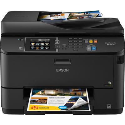 EpsonWorkForce Pro WF-4630 - multifunction printer ( color )(C11CD10201)