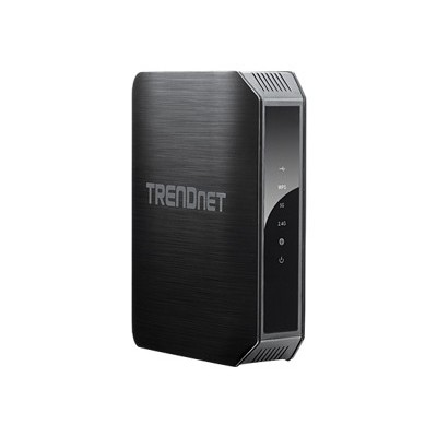 TRENDnet AC1200 Dual Band Wireless Router - Create 2 concurrent wireless networks (TEW-813DRU)