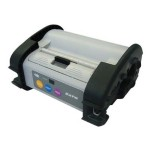MB 410i - Label printer - thermal paper - Roll (2.16 in) - 305 dpi - up to 243.3 inch/min - USB, IrDA, Wi-Fi, RS232C