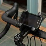 RAM EZ-Strap Rail Mount with Universal X-Grip Cell Phone Holder