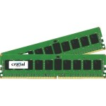 16GB Kit (8GBx2) DDR4 2133 MT/s (PC4-2133) CL15 SR x4 ECC RDIMM 288-Pin Server Memory