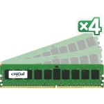 Crucial 32GB Kit (8GBx4) DDR4-2133 (PC4-2133) SR x4 ECC Registered DIMM Server Memory CT4K8G4RFS4213