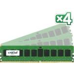 32GB Kit (8GBx4) DDR4-2133 (PC4-2133) SR x4 ECC Registered DIMM Server Memory