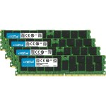64GB Kit (16GBx4) DDR4 2133 (PC4-2133) DR x4 ECC Registered 288-Pin Server Memory