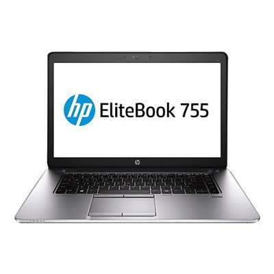 HP Smart Buy EliteBook 755 G2 AMD A10 Pro-7350B 3.30GHz Notebook PC - 8GB RAM, 180GB SSD, 15.6
