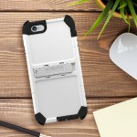 Trident Case Trident Kraken A.M.S. Series Standard - Protective cover for cell phone - TPE, bio-enhanced polycarbonate - white - for Apple iPhone 6s & 6 KN-API647-WT000