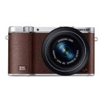 NX3000 20MP Interchangeable Lens Camera + 20-50mm Power Zoom Lens and Flash (Brown)