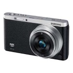NX Mini Mirrorless Digital Smart Camera with 9mm and 9-27mm Lenses and Case Kit - Black