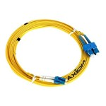 AX - Network cable - LC single-mode (M) to LC single-mode (M) - 23 ft - fiber optic - 9 / 125 micron - OS2 - riser - yellow