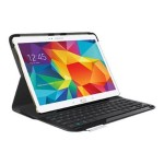 Logitech Type S - Keyboard and folio case - Bluetooth - English - for Samsung Galaxy Tab S (10.5 in) 920-006401