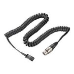 Plantronics Headset extension cable - Quick Disconnect (F) to 4 pin XLR (M) - for P/N: 91720-02 90025-02