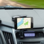 Fully Adjustable Car Dash Mount For Smartphones, Android, and most GPS