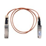 Network cable - QSFP+ to QSFP+ - 10 ft - fiber optic - SFF-8436 - active - beige
