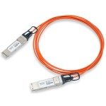 Direct-Attach Active Optical Cable - Network cable - QSFP+ to QSFP+ - 33 ft - fiber optic - SFF-8436 - active - beige - for Nexus 3172PQ, 3172TQ, 6001, 6001P, 6001T, 6004, 6004 24 x 40GE Ports/FCoE Bundle, 6004EF