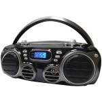 Bluetooth Portable CD Radio Boom Box with AM/FM Radio