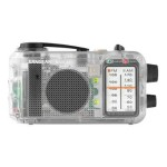 Sangean MR-77CL - Portable radio - clear MMR-77CL