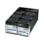 RBC43-SLA43-ER - UPS battery - 1 x lead acid - for P/N: SMT2200RMI2U, SMT2200RMUS, SMT3000RM2U, SMT3000RMI2U, SMT3000RMT2U, SMT3000RMUS